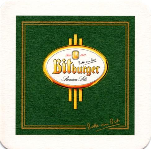 ca 100 Bierdeckel Bitburger Pils NEU /& OVP Klassik
